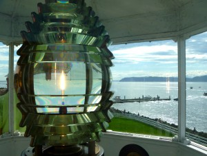 Mukilteo Lighthouse Lens -- photo courtesy of Bjorn on Flickr under Creative Commons license