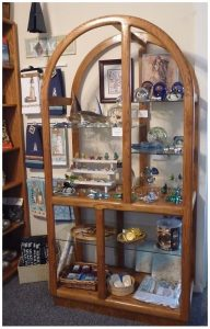 Nautical items in glass